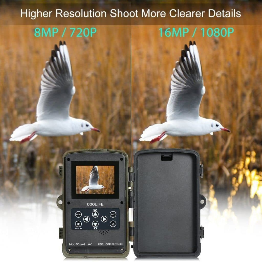Caméra de chasse coolife 16MP