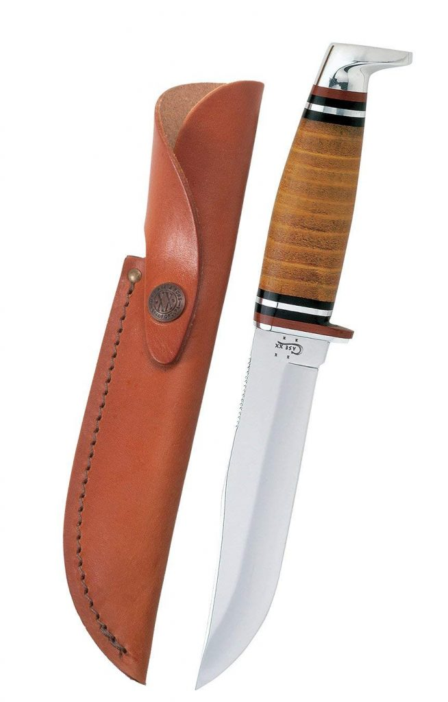 Couteau Case Leather Hunter